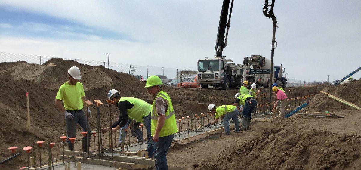 Phs Construction Begins Perham Dent Public Schools