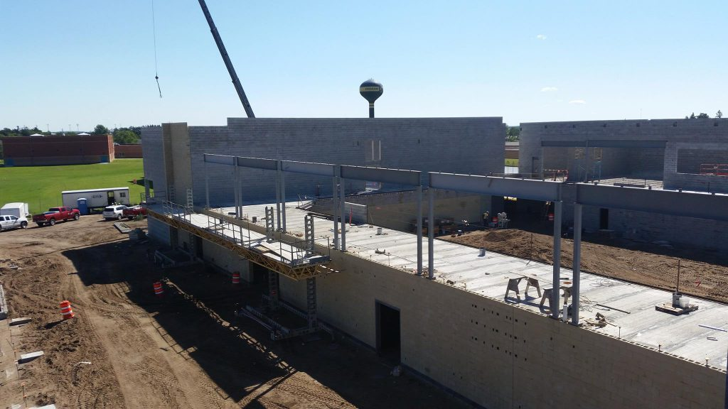 Phs Construction Update August 29 2017 Perham Dent