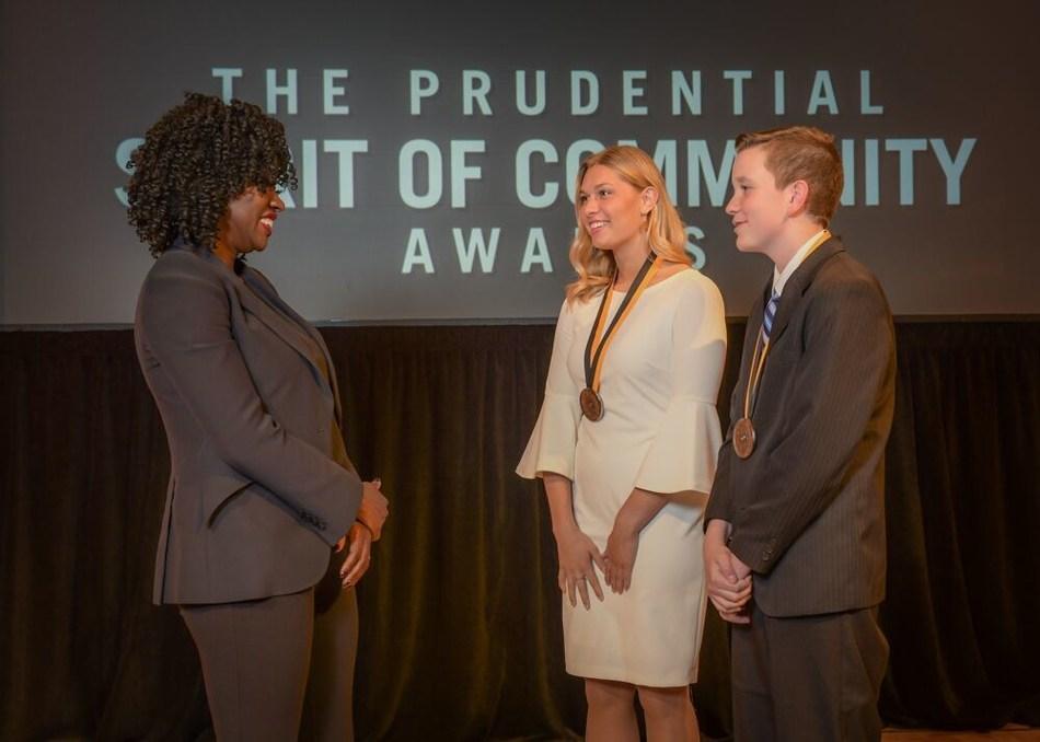 Annika Kovar Honored For Volunteerism At National Award